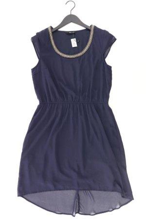 Only Chiffonkleid Größe 40 Kurzarm blau aus Polyester