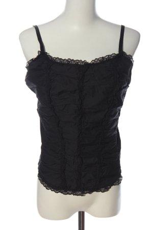 Only Haut type corsage noir style décontracté