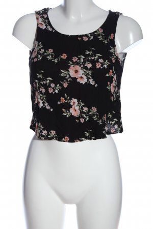 Only Cropped Top Allover-Druck Casual-Look