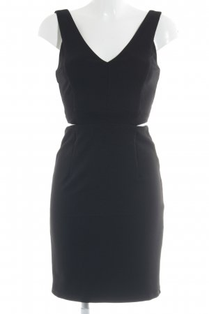 Only Vestido cut out negro estilo fiesta