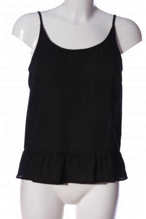Only Cut Out Top black casual look