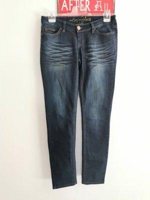 Only Damen Jeans Sexy Lowwaist Coral Superlow dunkelblau W30 L32