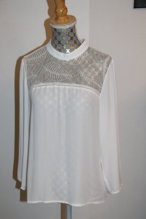 Only edle Bluse  Gr. XS semitransparent