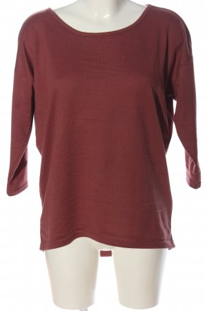 Only Feinstrickpullover rot Casual-Look