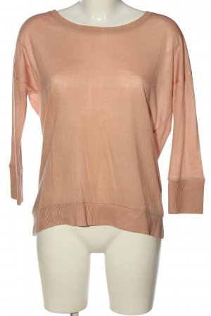 Only Feinstrickpullover nude Casual-Look