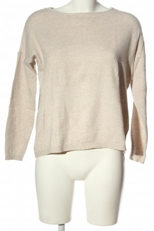 Only Feinstrickpullover creme Casual-Look