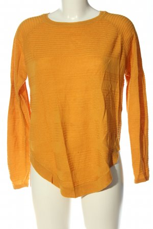 Only Feinstrickpullover hellorange Casual-Look