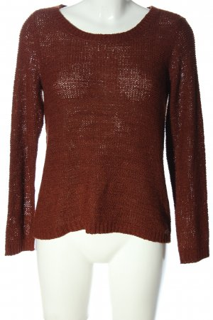 Only Feinstrickpullover braun Casual-Look