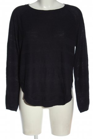 Only Feinstrickpullover blau Casual-Look