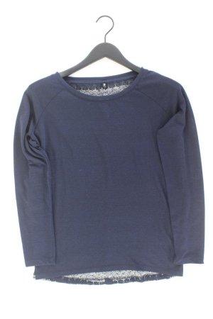 Only Feinstrickpullover Größe S blau aus Polyester