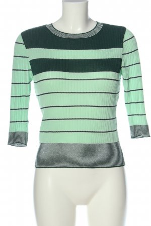 Only Feinstrickpullover Streifenmuster Casual-Look