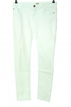 Only Five-Pocket-Hose weiß Casual-Look