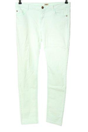 Only Pantalón de cinco bolsillos blanco look casual