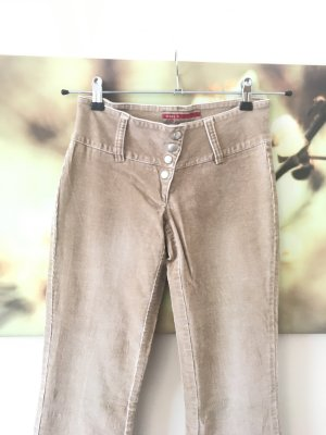 ONLY Flared jeans beige babycord gr. 27 S 36 beige