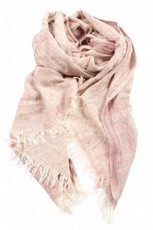 Only Fringed Scarf nude allover print casual look