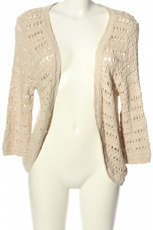 Only Grobstrickjacke creme Casual-Look