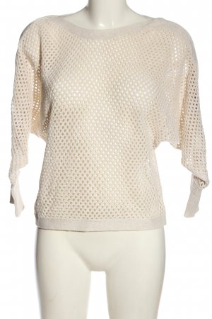 Only Coarse Knitted Sweater cream elegant