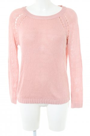 Only Grobstrickpullover pink Casual-Look