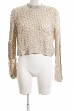 Only Grobstrickpullover creme Casual-Look