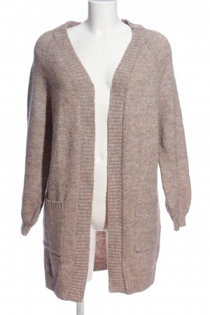 Only Grobstrickpullover pink meliert Casual-Look