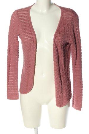 Only Gehaakte cardigan roze casual uitstraling