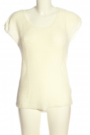 Only Häkelshirt creme Casual-Look