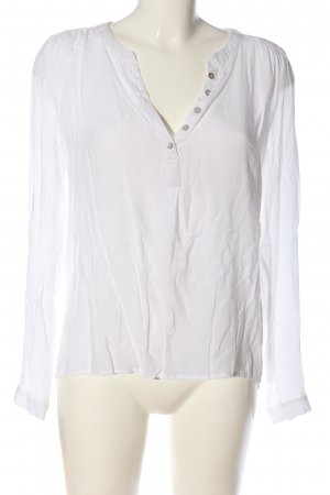 Only Hemd-Bluse weiß Business-Look