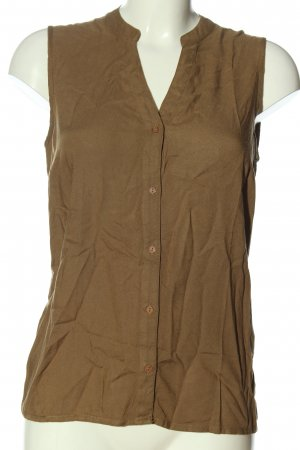 Only Hemd-Bluse braun Casual-Look