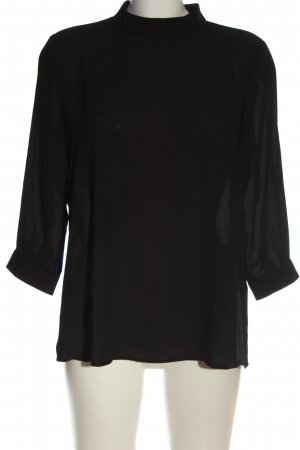 Only Hemd-Bluse schwarz Casual-Look
