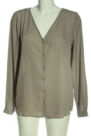 Only Camicia blusa cachi stile casual