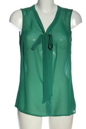 Only ärmellose Bluse grün Elegant