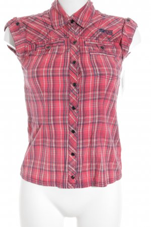 Only Hemd-Bluse Karomuster Casual-Look