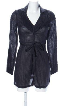 Only Shirtwaist dress black check pattern elegant