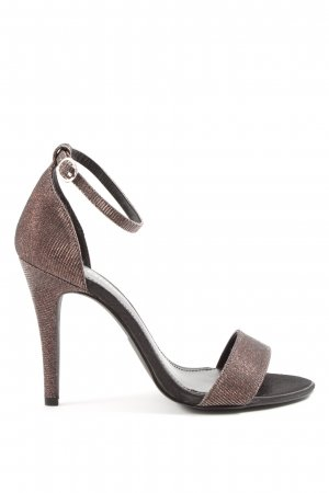 Only High Heel Sandaletten bronzefarben Elegant