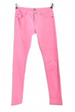 Only High-Waist Hose pink Casual-Look