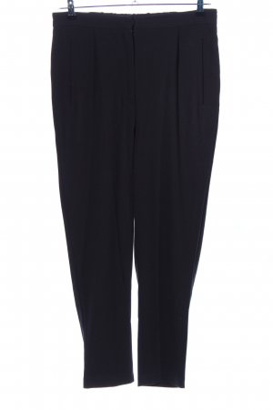 Only High-Waist Hose schwarz Business-Look