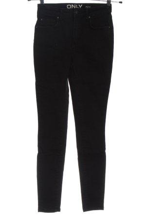 Only High Waist Jeans schwarz Casual-Look