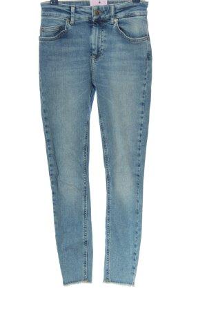 Only Jeans taille haute bleu style décontracté