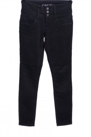 Only High Waist Jeans schwarz Casual-Look