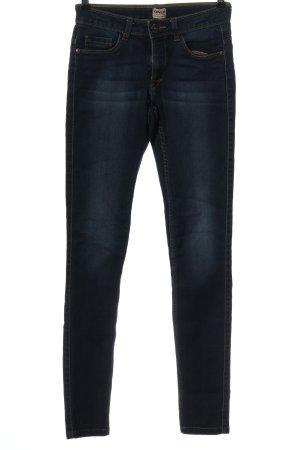 Only Jeansy z wysokim stanem niebieski W stylu casual