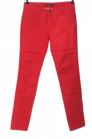 Only High Waist Jeans red casual look