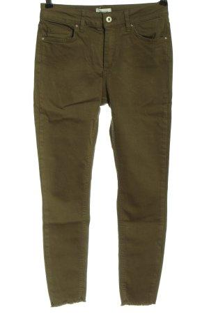 Only High Waist Jeans khaki meliert Casual-Look
