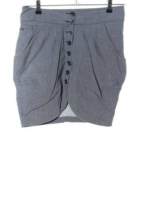 Only Jupe taille haute gris clair Motif de tissage style d'affaires
