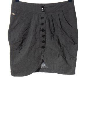 Only High Waist Skirt light grey weave pattern casual look