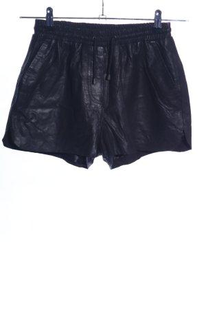 Only Pantaloncino a vita alta nero elegante
