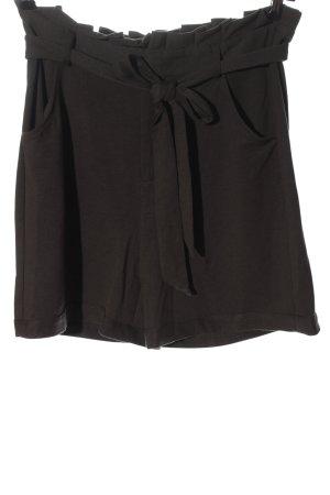 Only High-Waist-Shorts braun Casual-Look