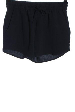 Only High-Waist-Shorts schwarz Casual-Look