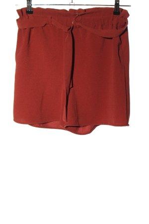 Only Short taille haute rouge style décontracté