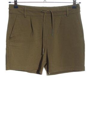 Only High-Waist-Shorts khaki Casual-Look