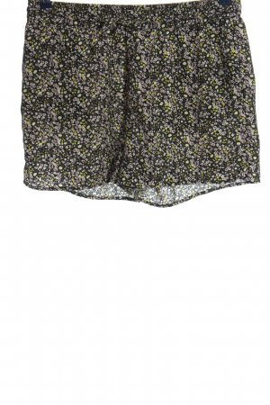 Only High-Waist-Shorts Allover-Druck Casual-Look